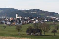 Rural community Putzleinsdorf - Austria Royalty Free Stock Photo