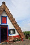 Rural cottage with a thatched roof Stock Photography