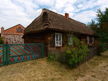 Country cottage with open-air museum. Stock Photo