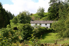 Rural Cottages in The English Lake District National Park. Royalty Free Stock Image