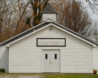Rural country church Royalty Free Stock Photos