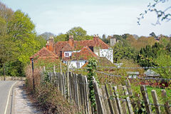 Rural country lane Royalty Free Stock Photography