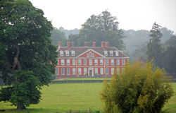 Rural country retreat estate. Photo of a rural country estate mansion surrounded by the kent countryside stock images