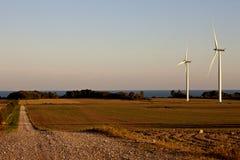 Rural Country scene on Lake Erie Stock Photos