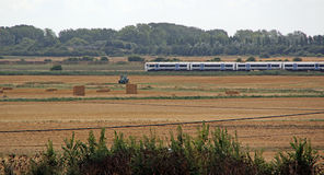 Rural country train Stock Images