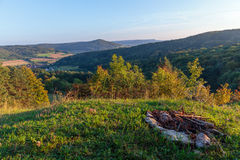 Rural Countryside Autumn Scenery Stock Image