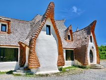 Rural Clay House Royalty Free Stock Photo