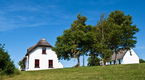 Rural countryside cottage in europe Royalty Free Stock Image