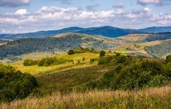 Rural countryside in mountainous area Stock Photo