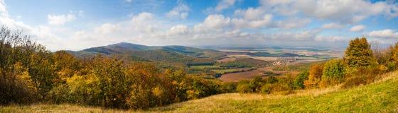 Rural countryside panorama stock image