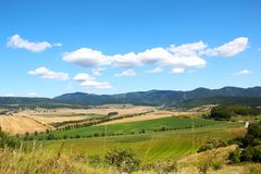 Rural countryside in Slovakia Stock Images