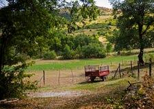 Rural détendez le temps photographie stock libre de droits