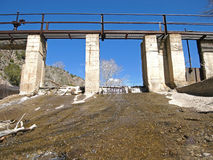 Rural Dam Royalty Free Stock Image