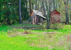Rural Decay Royalty Free Stock Photography