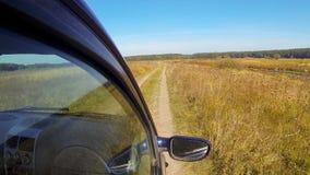 Rural del camino almacen de video
