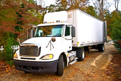 Rural Delivery / Large Truck Royalty Free Stock Photo
