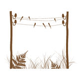 Rural Design Frame Royalty Free Stock Photos