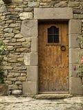 Rural Door. Tipical door design of Rupit, a beautiful village of Catalonia Stock Photography
