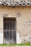 Rural door, Spain Stock Image