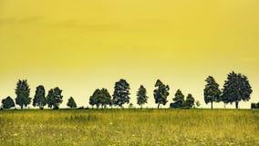 Rural dusk Stock Image