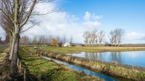 Rural Dutch landscape Royalty Free Stock Image