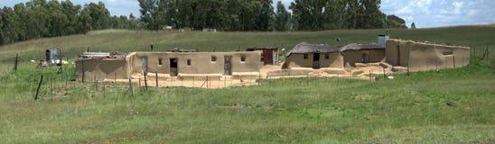 Rural dwelling. Royalty Free Stock Photo