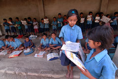 Rural Education Stock Photo