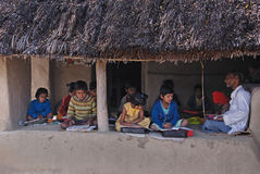 Rural Education in India Stock Photography