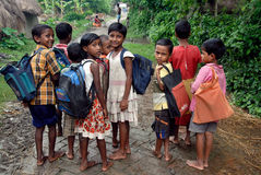 Rural Education in India Royalty Free Stock Image