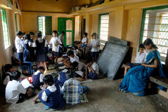 Rural Education in India Stock Photos