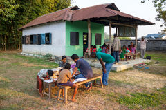 Rural education in India Royalty Free Stock Images