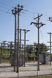Rural Electrical Power Substation Stock Photos