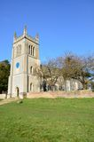 Rural english church Royalty Free Stock Images