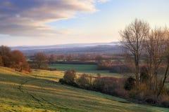 Rural English landscape Stock Photos