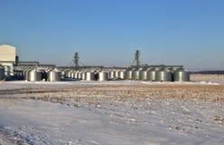 Rural Factory Farm Stock Photo
