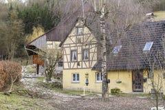 Rural farm house Stock Photo
