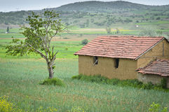 Rural Farm House Royalty Free Stock Photography
