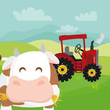 Rural and farm icons Royalty Free Stock Image