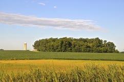 Rural farm land scene Royalty Free Stock Photo