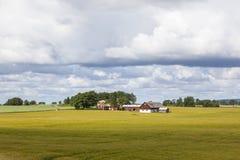 Rural farm landscape Royalty Free Stock Photos