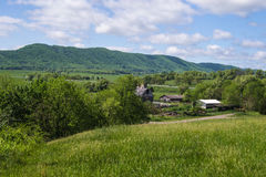 Rural Farm in the Mountains Royalty Free Stock Images