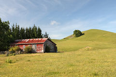 Rural farmland scene Stock Photo