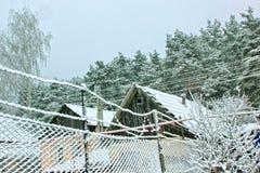 After a snowfall. Stock Photos