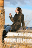 Rural female Stock Photography