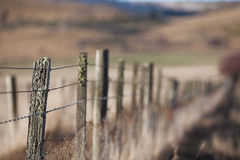 Rural Fence Royalty Free Stock Photos