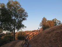 Rural Fence Royalty Free Stock Images