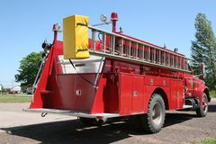 Rural Firetruck 2 Royalty Free Stock Image