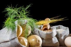 Rural food ingredients royalty free stock image