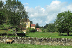 Rural France Stock Photography