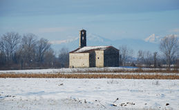 Rural Friulian Church Royalty Free Stock Photos